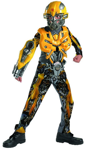 Bumblebee Transformers Deluxe Kids Costume