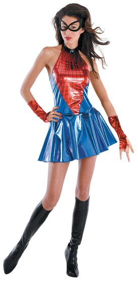 Adult Spider Girl Sassy Deluxe Costume