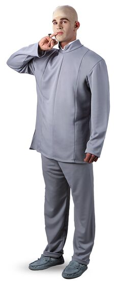 Dr Evil Deluxe Adult Costume