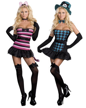 Reversible Mad Kitty Sexy Wonderland Costume