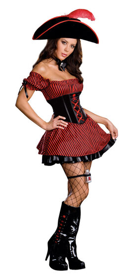 Party Wench Sexy Pirate Costume