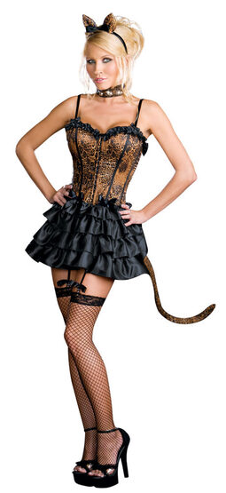 Bonjour Kitty Sexy Cat Costume