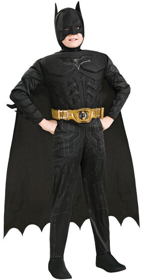 Deluxe Dark Knight Batman Kids Costume
