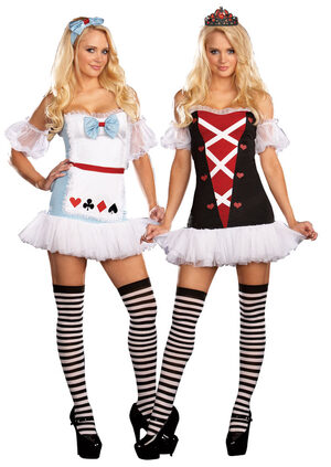 Reversible Sexy Alice in Wonderland Costume