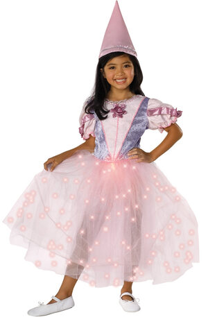 Renaissance Twinkle Pink Princess Kids Costume
