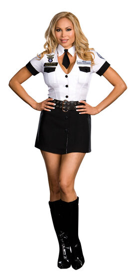 Tara U Clothesoff Plus Size Sexy Cop Costume