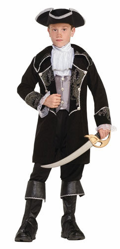 Boys Swashbuckler Kids Pirate Costume