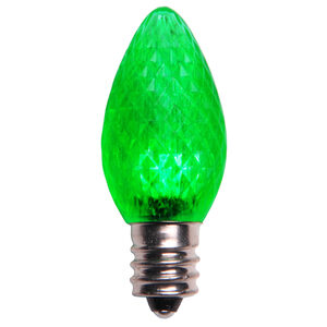 C7 Green LED Light Bulbs