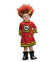 Kids Lightning Troll Pirate Toddler Costume