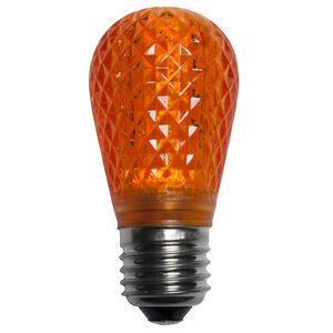 S14 T50 Amber / Orange LED Replacement Bulbs