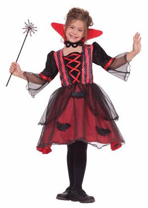 Girls Magical Vampiress Kids Costume