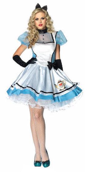 Sexy Tea Time Alice In Wonderland Costume Costume