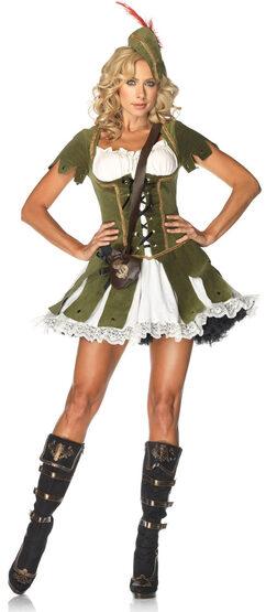 Sexy Thief of Hearts Robin Hood Costume