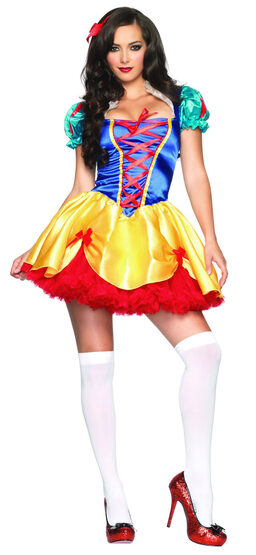 Sexy Fairy Tale Snow White Costume