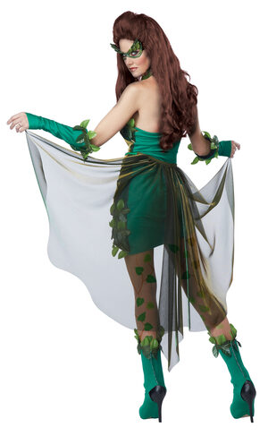 Sexy Lethal Beauty Green Fairy Costume