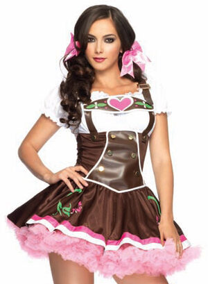 Sexy Lil' German Girl Oktoberfest Costume