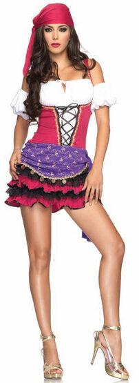 Sexy Crystal Ball Gypsy Costume