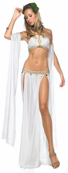 Sexy Greek Goddess of Love Costume