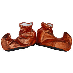 Red Elf Holiday Shoe Covers