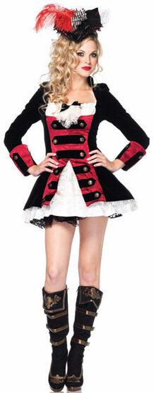Sexy Pirate Captain Costume