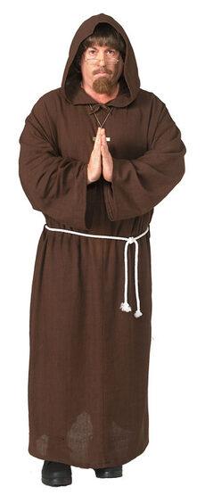 Adult Friar Tuck Medieval Renaissance Costume