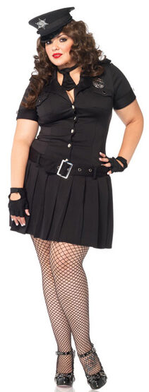 Arresting Police Officer Plus Size Costume