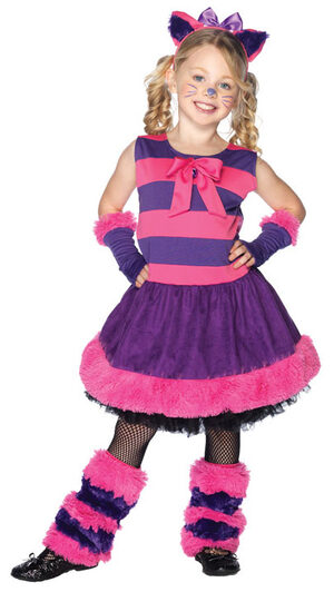 Wonderlands Cheshire Cat Kids Costume