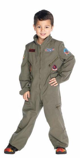 Top Gun Flight Suit Kids Costume