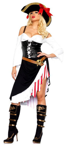 Sexy Sultry Swashbuckler Pirate Costume