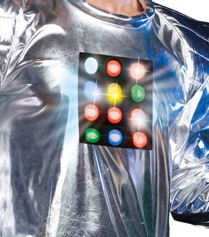 Robot A Boom Light Up Robot Adult Costume