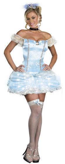 Sexy Cinderella Light Up Princess Costume