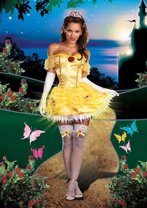 Sexy Light Up Storybook Beauty Princess Costume