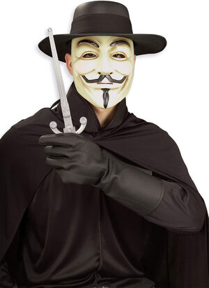 V for Vendetta Costume Kit Adult Costume