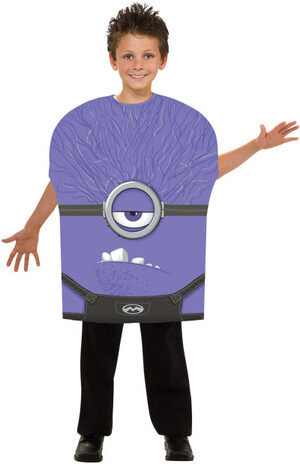 Despicable Me Evil Minion Kids Costume