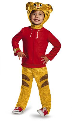 Daniel Tiger Toddler Kids Costume