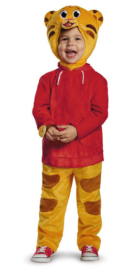 Deluxe Daniel Tiger Toddler Kids Costume