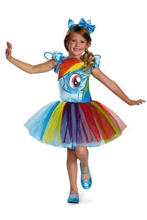Rainbow Dash My Little Pony Tutu Kids Costume
