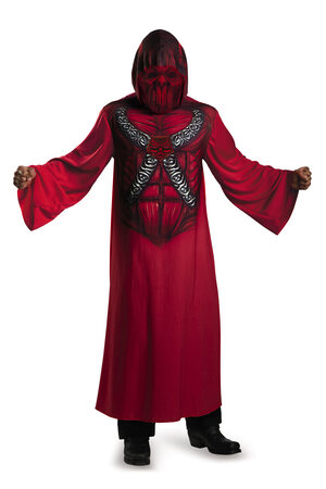 Hooded Devil Scary Adult Costume