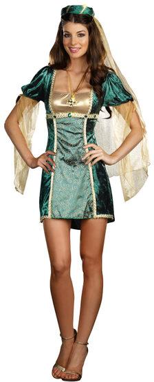 Sexy Sure Wood Lady Renaissance Costume