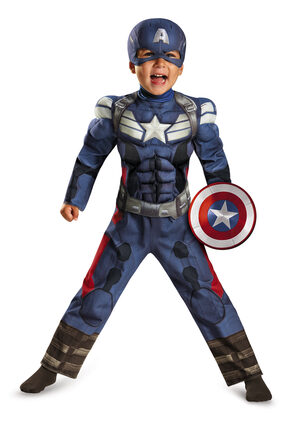 Captain America Movie Toddler Kids Costume