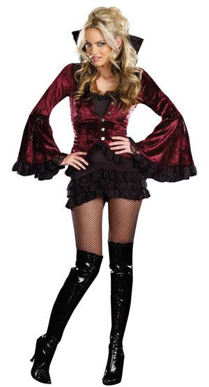 Sexy Fangtastic Vampiress Costume