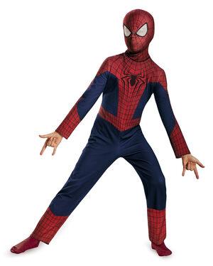Classic Spiderman Superhero Kids Costume
