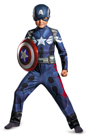 Captain America Movie Kids Costume