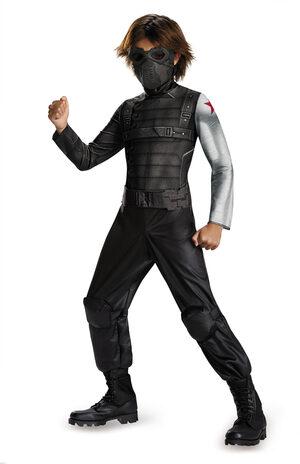 Classic Winter Soldier Movie Kids Costume