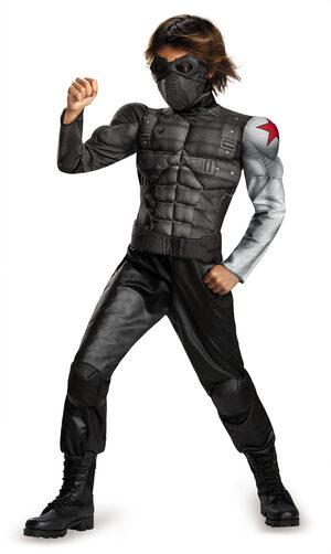 Deluxe Winter Soldier Movie Kids Costume