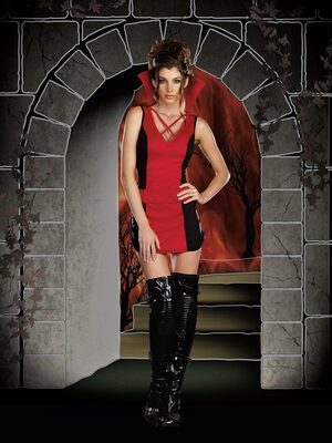 Sexy Appetite for Destruction Vampire Costume