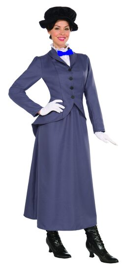 English Nanny Historical Adult Costume