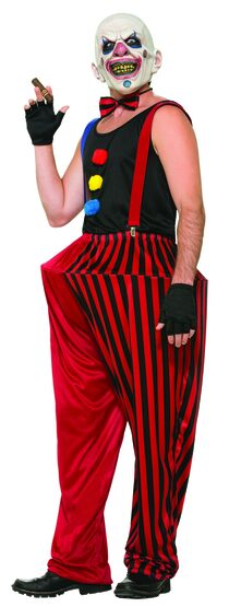 Twisted Clown Scary Adult Costume