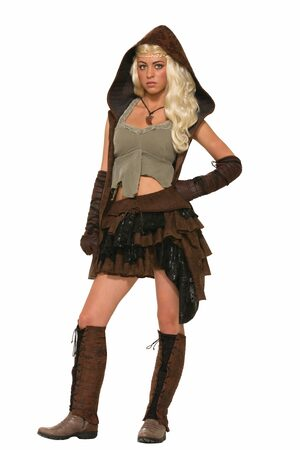Sexy Rogue Warrior Medieval Costume