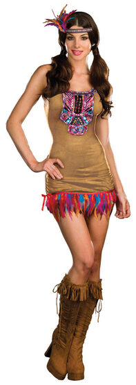 Sexy Tribal Vibe Indian Costume